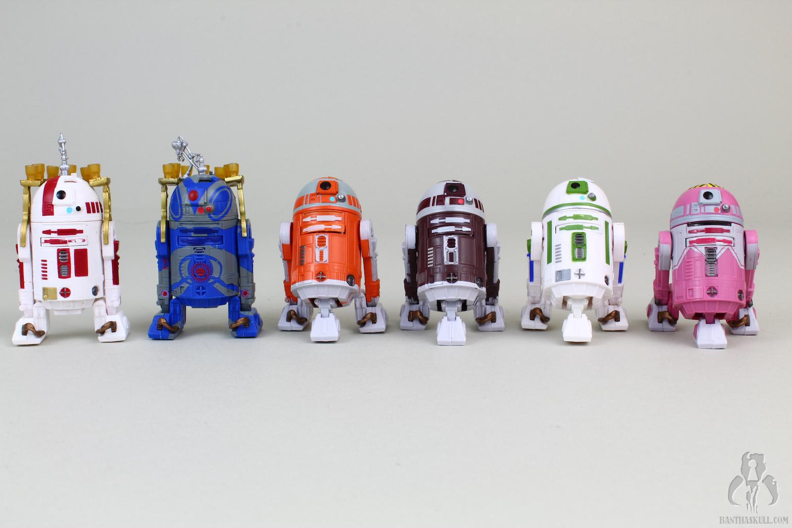 "Star Wars Clone Black Series LOOSE 3.75/"" Figure R7-D4 Plo Koon/'s Astromech Droid"