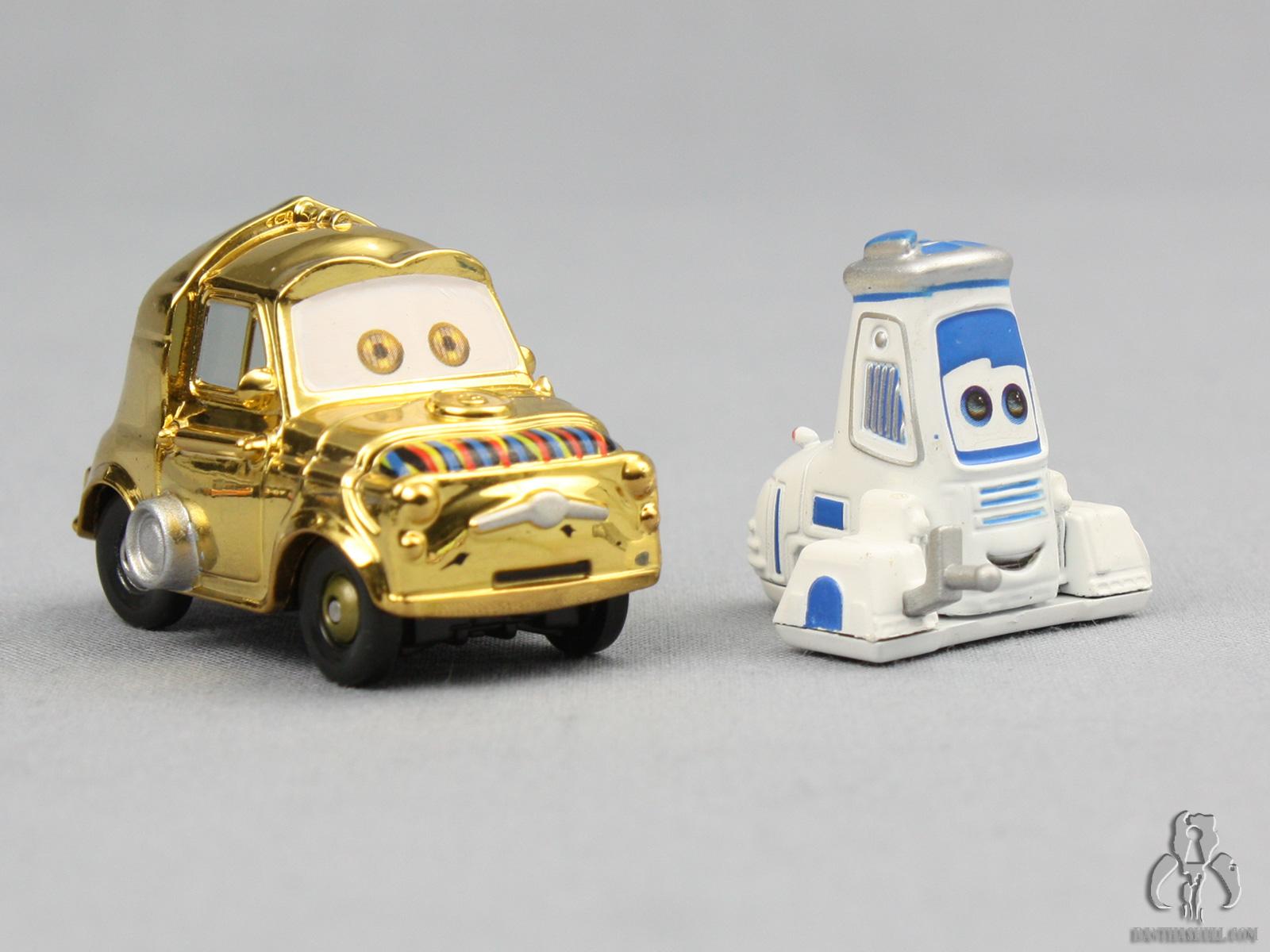 Cars Luigi Amp Guido As C 3po Amp R2 D2