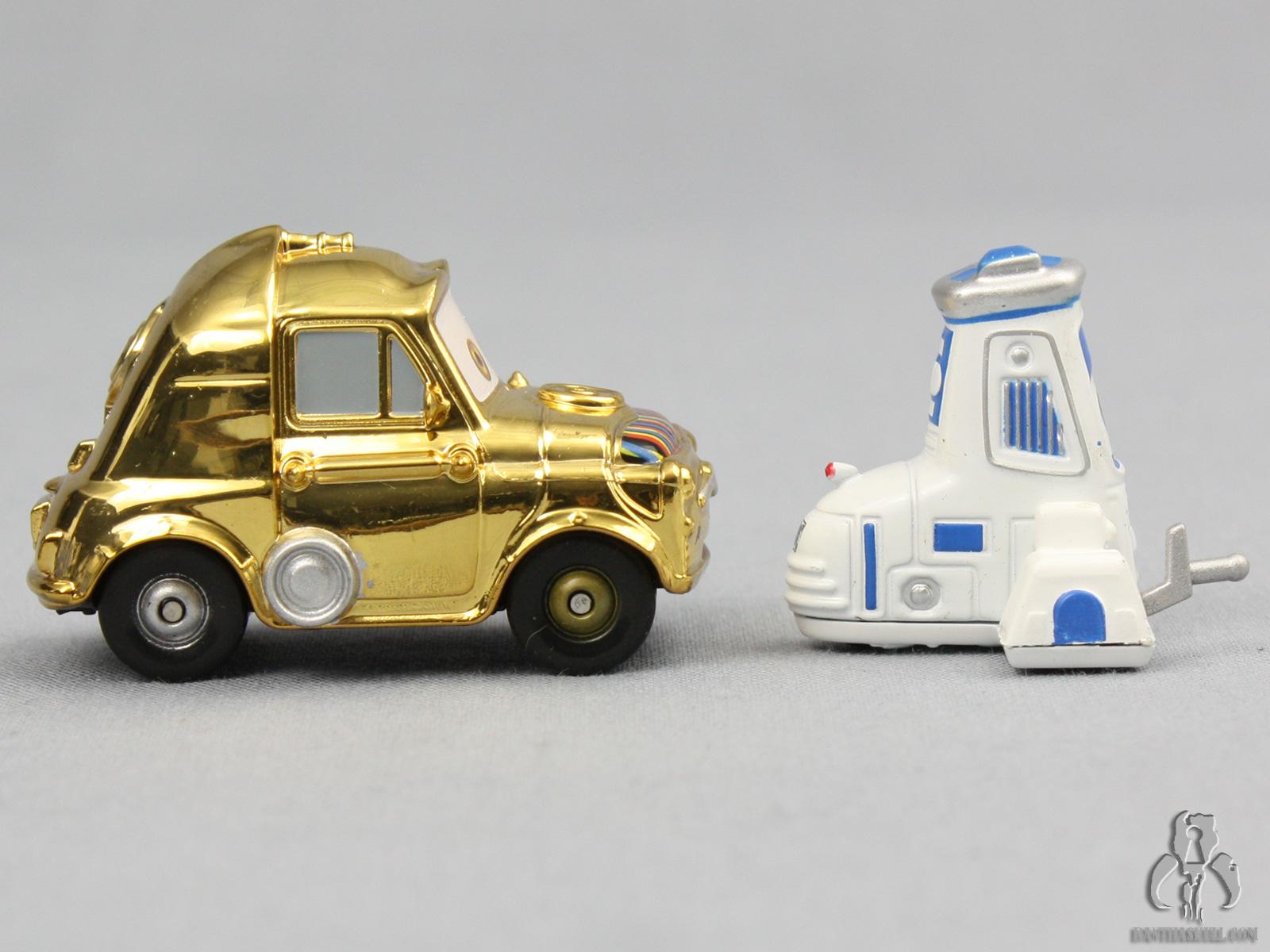 Disney Pixar Star Wars Cars Luigi Amp Guido As C 3po Amp R2 D2