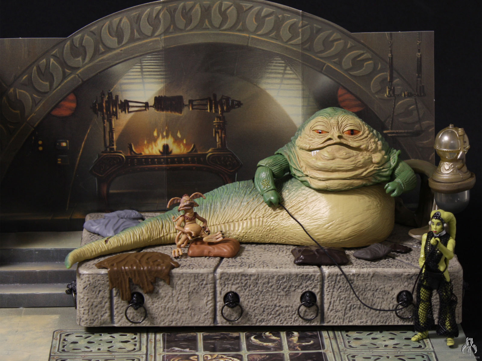 Jabba S Throne Wal Mart Exclusive