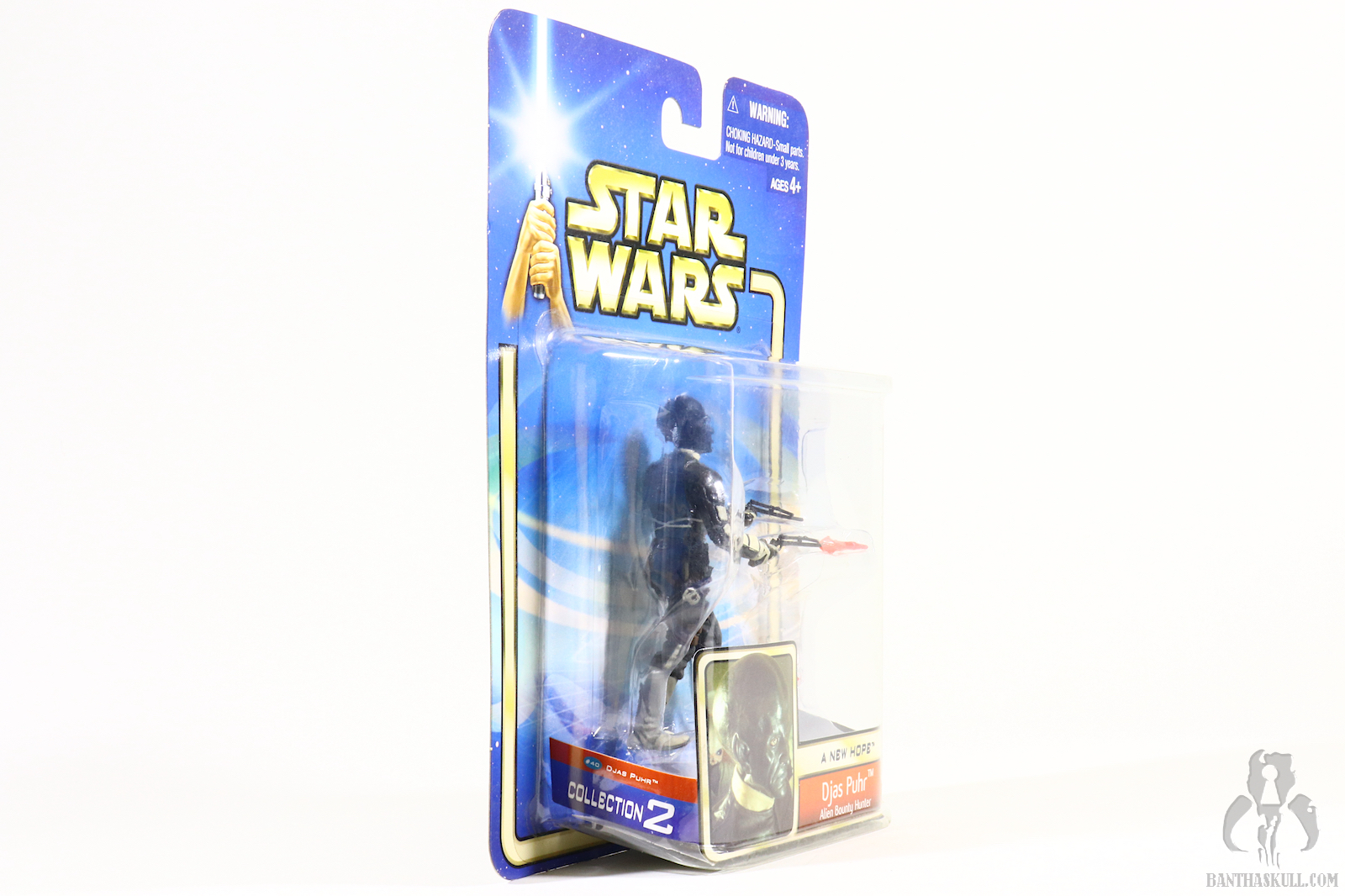 Star Wars SAGA Collection 02-40 Cantina Patron Djas Puhr Loose Complete