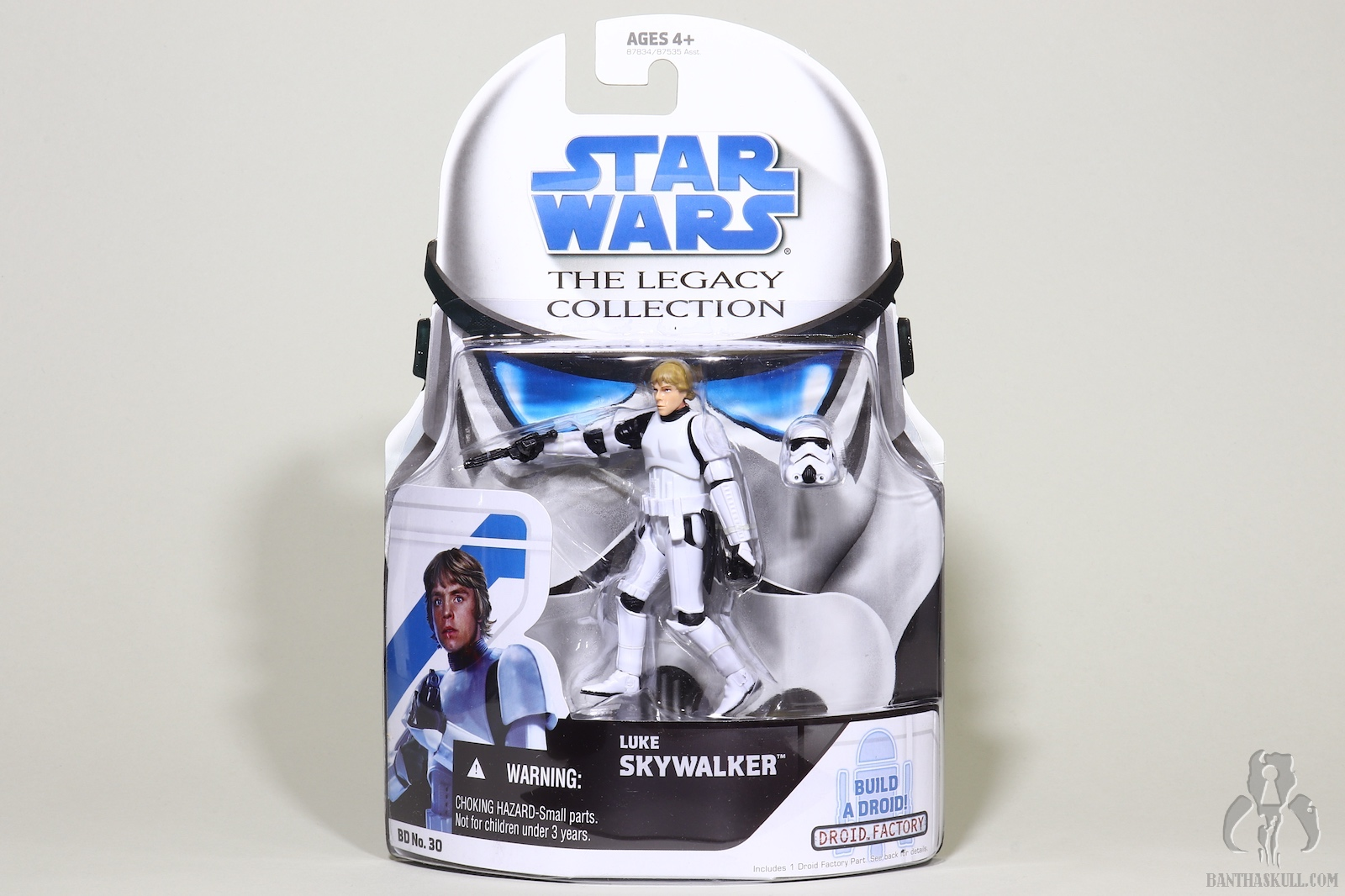 Hasbro Star Wars Legacy Collection Build-A-Droid Factory Action Figure BD No Stormtrooper 30 Luke Skywalker Hasbro Toys 87834