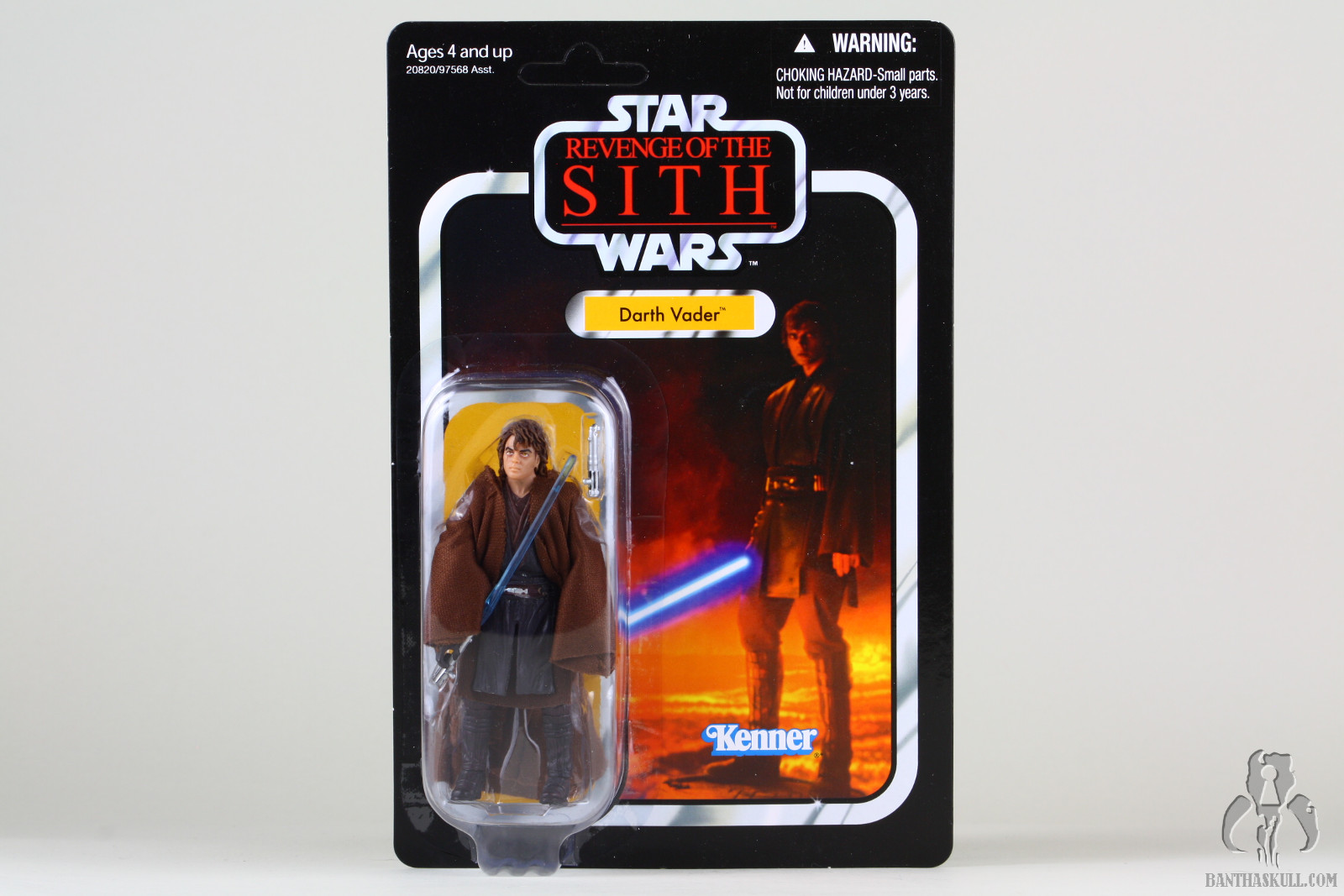 Anakin Skywalker VC13 2010 Star Wars The Vintage Collection Comme neuf on Card