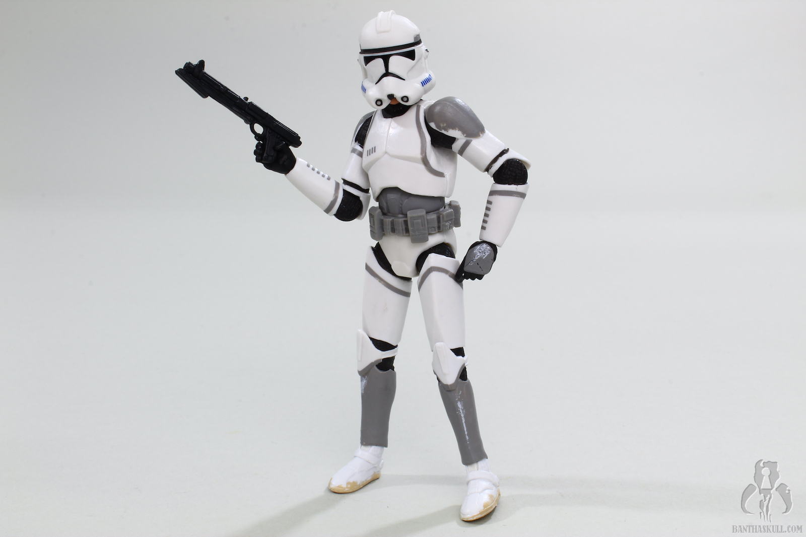 Lot 100 Pcs Guns Accessories Star Wars 3 3//4 inches figures Clone Trooper Toy