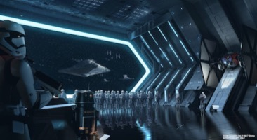 Star Destroyer hangar