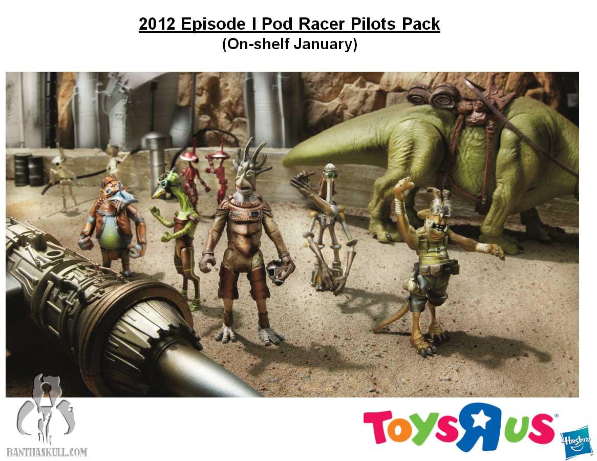MH - Pod Racer Pilots Pack (Toys R Us)