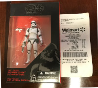 Black Series First Order Stormtrooper Purchase