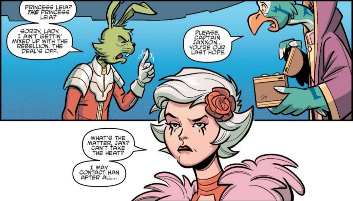 Jaxxon is Back…And in Canon!