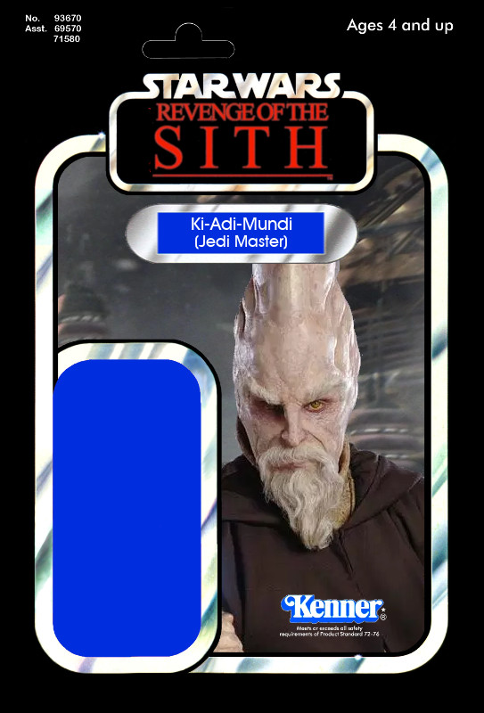 Revenge Of The Sith Ki Adi Mundi 29 Star Wars
